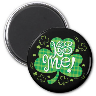 Saint Patricks Day  T-shirt 2 Inch Round Magnet