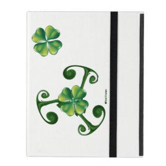 Saint Patrick's Day & Triskele .Lá Fhélie Pádraig iPad Cover