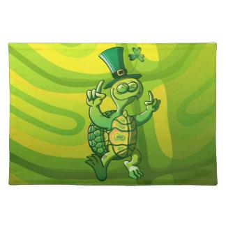 Saint Patrick's Day Turtle Placemat
