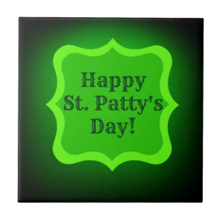 Saint Patrick's Day Wish Tile