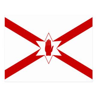Saint Patrick'S For Northern Ireland flag Postcard