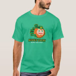 Hand shaped Saint Patricks Irish Lucky Leprechaun t-shirt