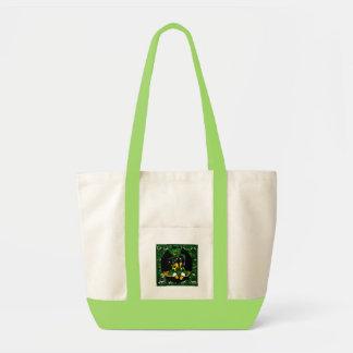 Saint Patty  Dachshund Tote Bag