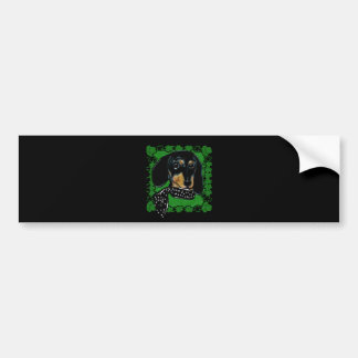 SAINT PATTY DOXIE BUMPER STICKER