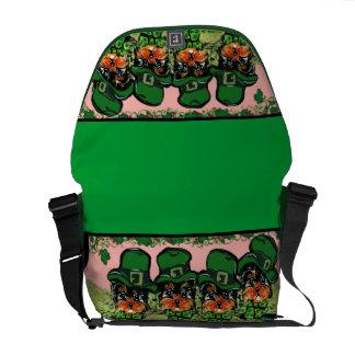 Saint Patty Yorkie Poo Bag