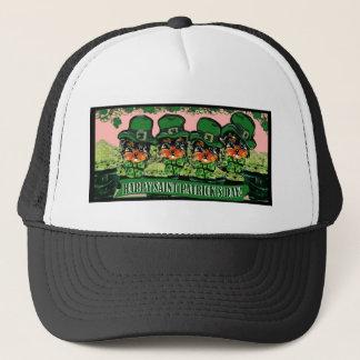 Saint Patty Yorkie Poos Trucker Hat