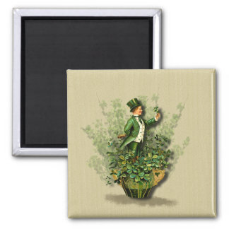 Saint Patty's Day Gent- Irish Blessings Magnet