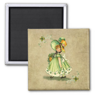 Saint Patty's Day Girl- Magnet
