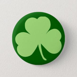 Saint Pattys Day Shamrock Pinback Button