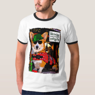 Saint Patty's Day Welsh Corgi T-Shirt