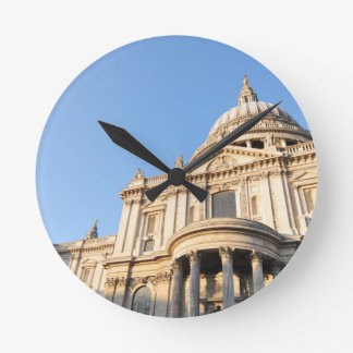 Saint Paul cathedral in London, UK Round Clock