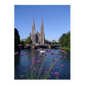 Saint-Paul church of Strasbourg Post Card