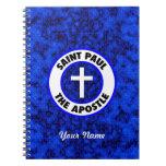Saint Paul el apóstol Libreta Espiral