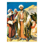 Saint Paul en el camino a Damasco Postal