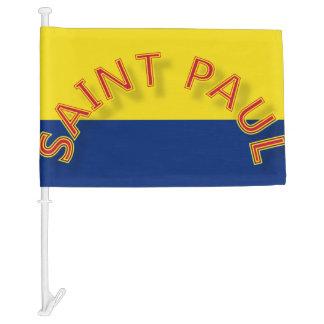 Saint Paul Flag Car Flag