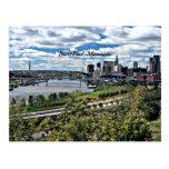 Saint Paul, Minnesota Landscape Post Card