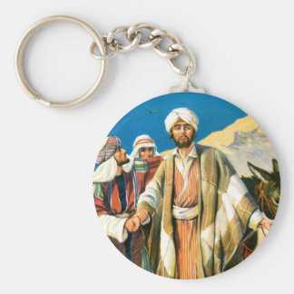 Saint Paul on the Road to Damascus Keychain
