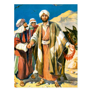Saint Paul on the Road to Damascus Postcard