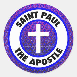 Saint Paul the Apostle Classic Round Sticker