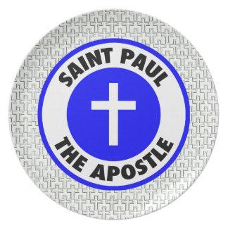 Saint Paul the Apostle Melamine Plate