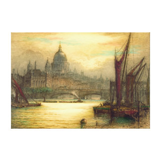 Saint Paul's Cathedral 1902 Stretched Canvas Prints