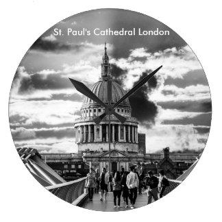 Saint Paul's Cathedral London. Large Clock