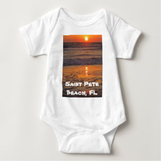 Saint Pete Beach Sunset Baby Bodysuit