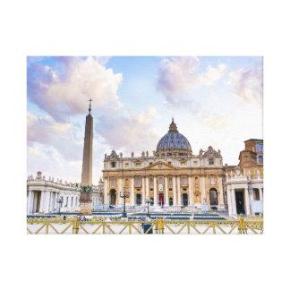 Saint Peter at the Vatican Canvas Print