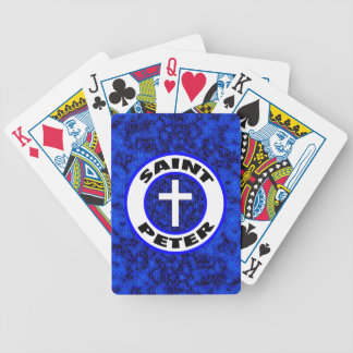 Saint Peter Bicycle Playing Cards