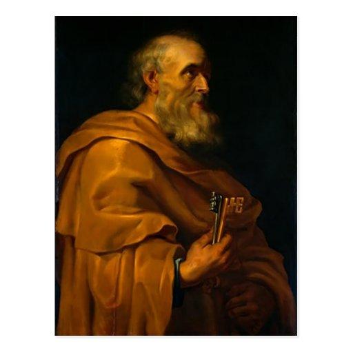 Saint Peter by Jusepe de Ribera Post Card