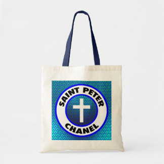 Saint Peter Chanel Tote Bags