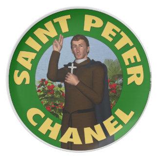 Saint Peter Chanel Dinner Plates