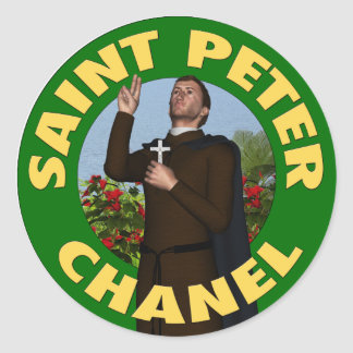 Saint Peter Chanel Sticker