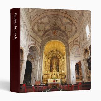 Saint Peter church 3 Ring Binder