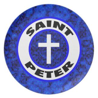 Saint Peter Dinner Plate