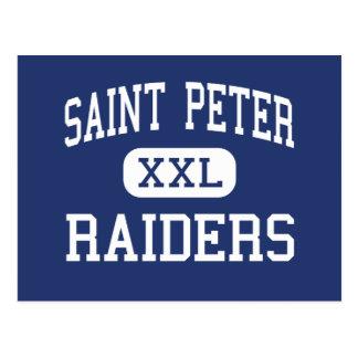 Saint Peter Raiders Middle Joplin Missouri Postcard
