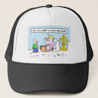 saint peter show remorse late heaven trucker hat