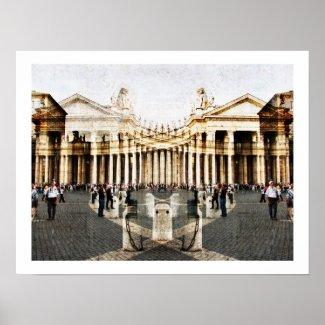 Saint Peter Square, Vatican print