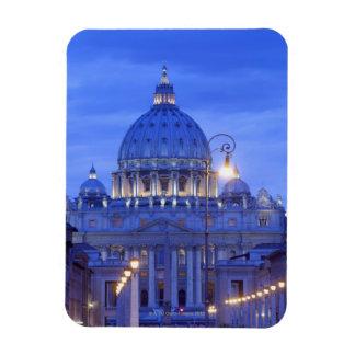 Saint peters bascillia  evening dusk view rectangle magnet