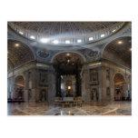 Saint Peter's Basilica and The Baldacchino Postcard