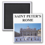 saint peter's basilica magnet