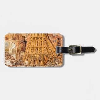 Saint Peter's Obelisk Tag For Luggage