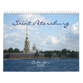 Saint Petersburg Calendar