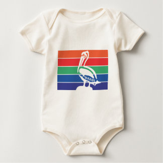 Saint Petersburg city flag Baby Bodysuit