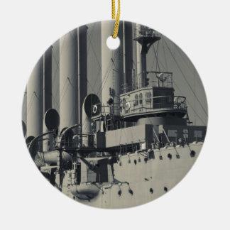 Saint Petersburg, Cruiser Aurora 2 Ceramic Ornament