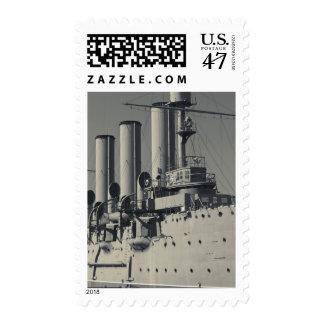 Saint Petersburg, Cruiser Aurora 2 Postage Stamp