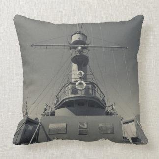 Saint Petersburg, Cruiser Aurora 3 Throw Pillow
