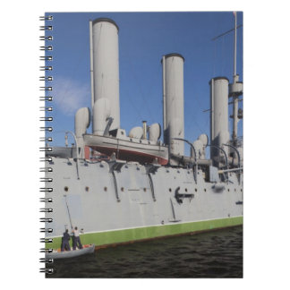 Saint Petersburg, Cruiser Aurora 4 Notebook