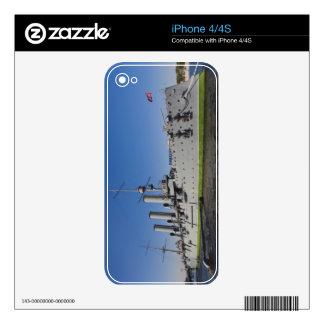 Saint Petersburg, Cruiser Aurora iPhone 4S Skin