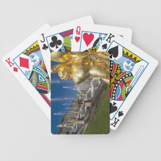 Saint Petersburg, Grand Cascade fountains 10 Bicycle Playing Cards